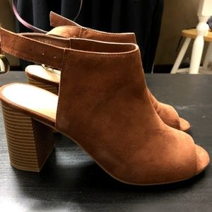 CL by Chinese Laundry Open Toe Booties